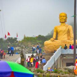Tượng Phật Hoàng lớn nhất VN trên núi Yên Tử