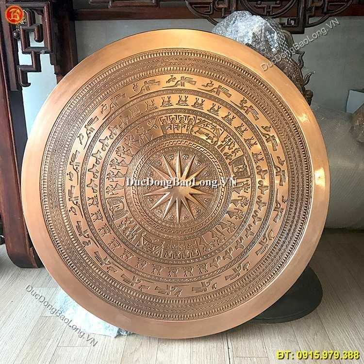 Mặt Trống Đồng Ngọc Lũ Treo Tường 80cm