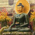 Bí ẩn đồng xu trên ngực pho tượng Phật