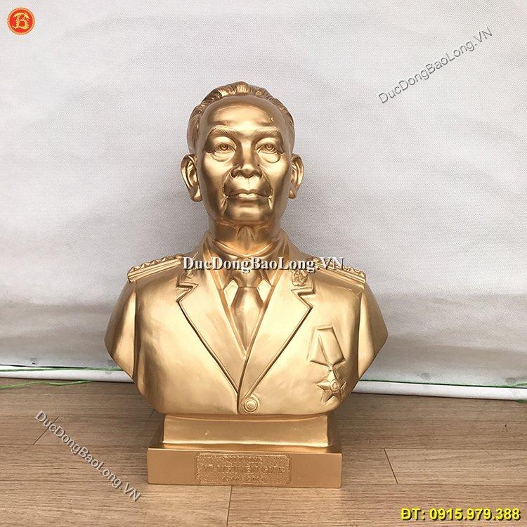 Tượng Đại Tướng Võ Nguyên Giáp Bằng Đồng Cao 45cm