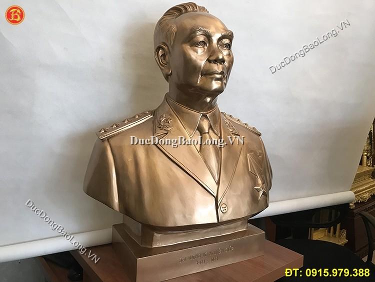 Tượng Võ Nguyên Giáp 81cm Bằng Đồng