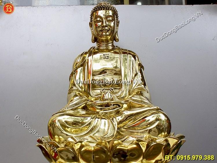Tượng Đồng Phật Thích Ca Cao 68cm