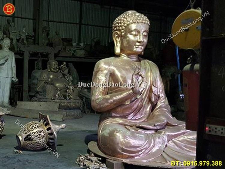 Cơ Sở Đúc Tượng Phật Bằng Đồng Cho Đình Chùa
