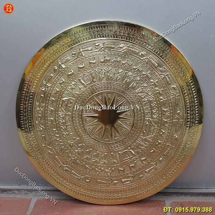 Mặt Trống Đồng Gò Đồng Vàng ĐK 40cm