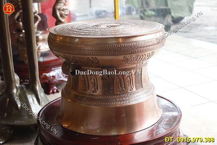 Trống Đồng Ngọc Lũ ĐK 40cm Tinh Xảo