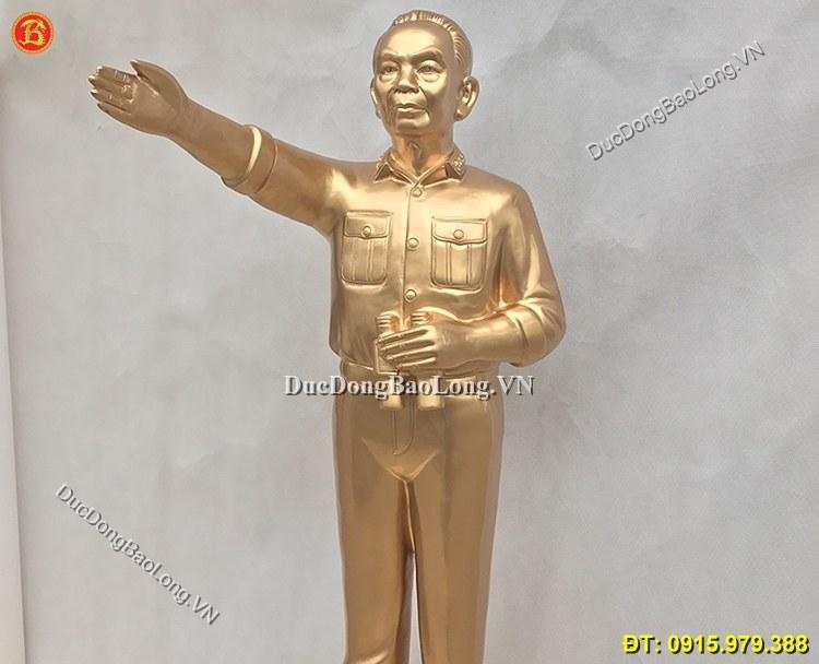 Tượng Đồng Bác Giáp Đứng Chỉ Huy 1m07