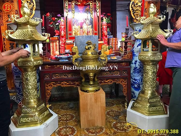 Đèn Đồng Đình Chùa 1m55