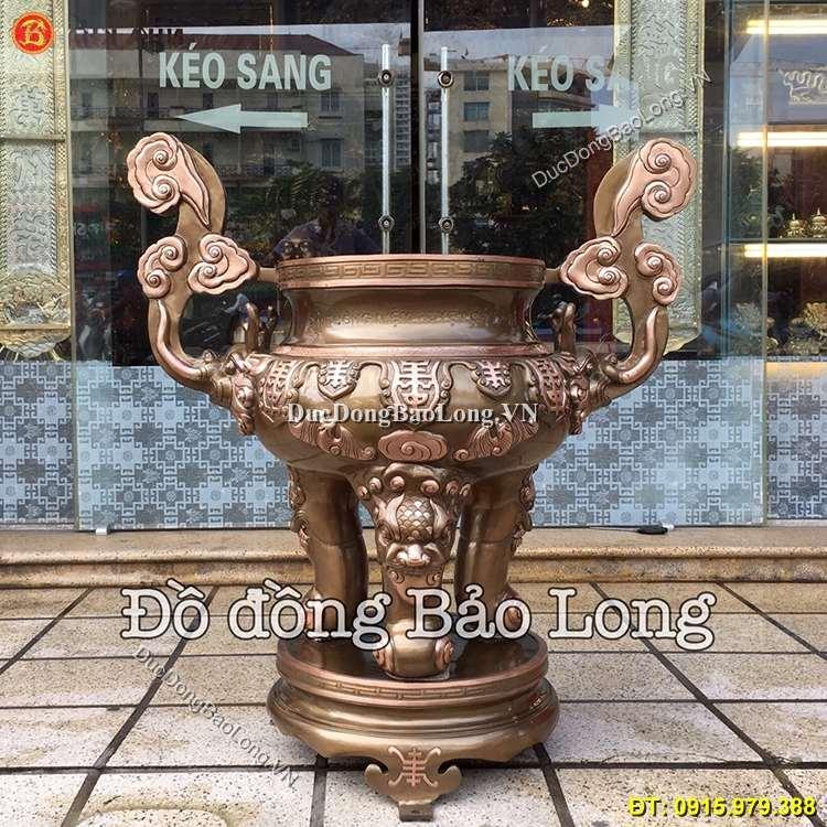 Lư Hương Bằng Đồng 90cm