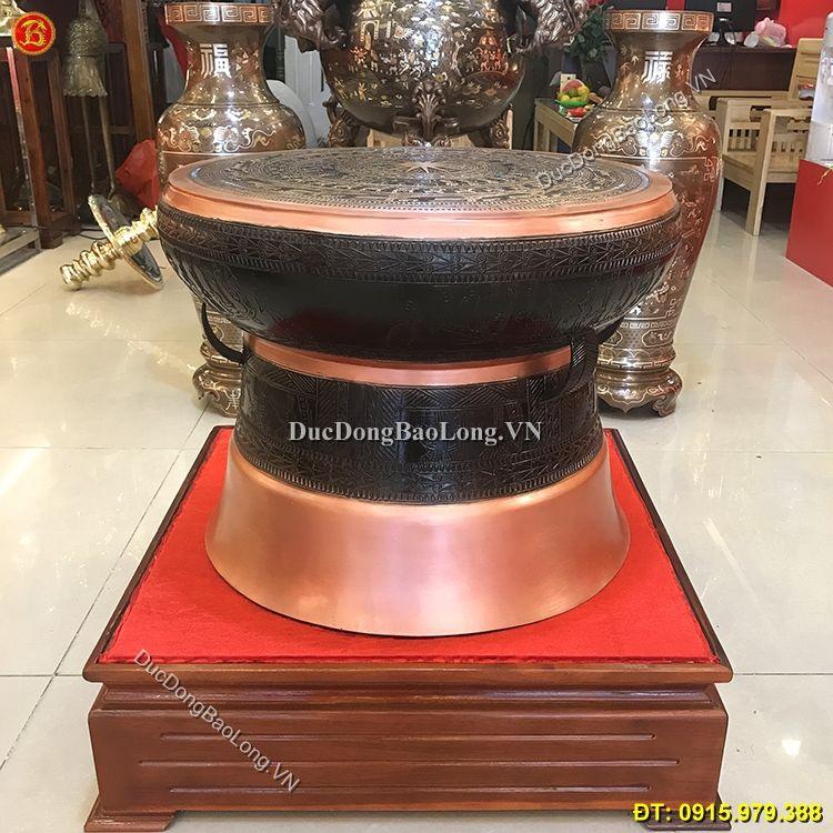 Quả Trống Đồng Đông Sơn Đường Kính 60cm