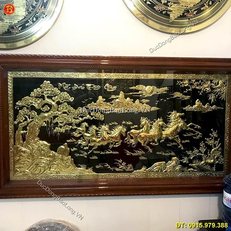 Tranh Đồng Mã Đáo Thành Công 1m97 x 1m07