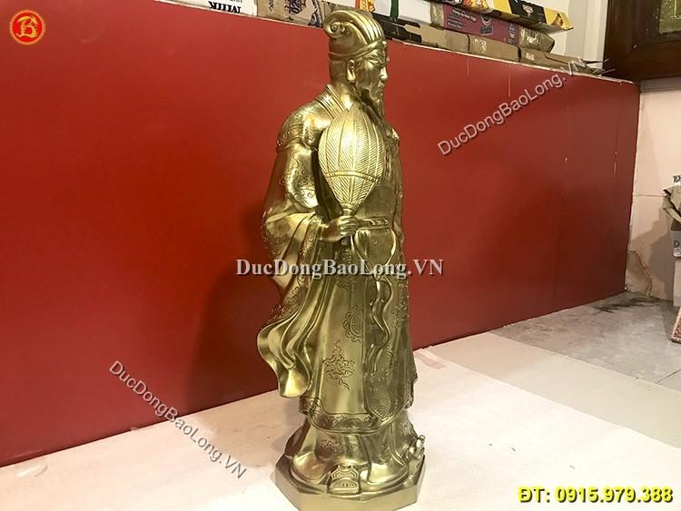 Tượng Đồng Khổng Minh Cao 72cm