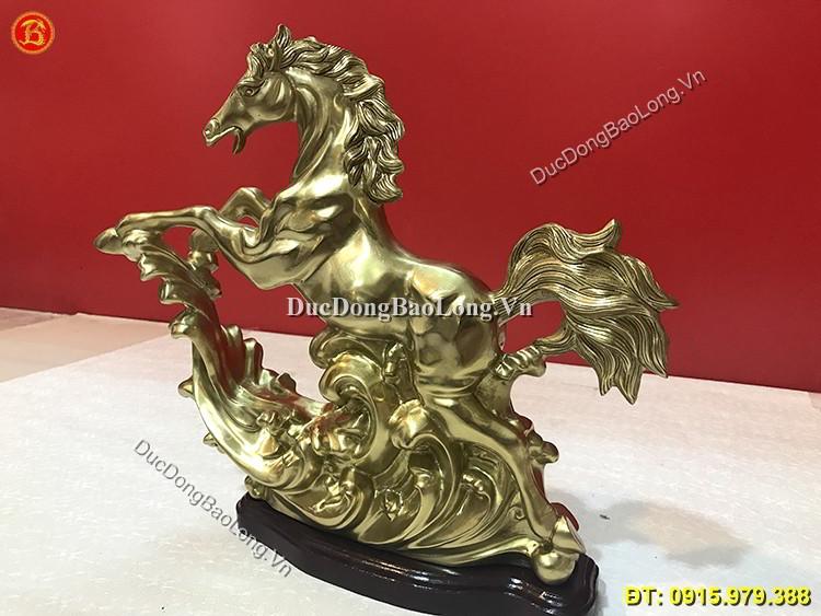 Tượng Đồng Con Ngựa Phi Nước Đại Cao 36cm