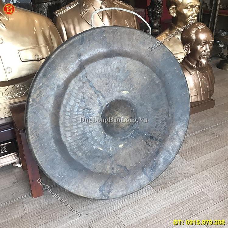Chiêng Đồng Đường Kính 72cm Treo Đình Chùa