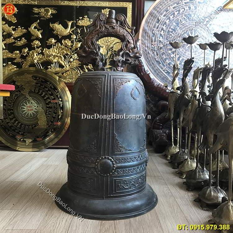 Chuông Đồng Thờ Cúng 37kg Cho Đình Chùa