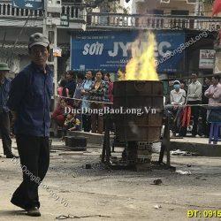 Đúc Chuông Đồng 250kg Cho Đình Mẫu Thanh Oai