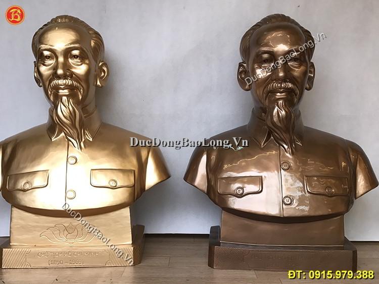 Bán Tượng Đồng Bác Hồ Mẫu Chuẩn Đẹp