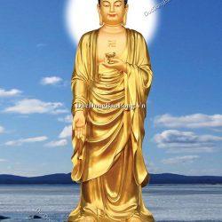 Buổi Duyệt Mẫu Tượng Phật A Di Đà Cao 1m7
