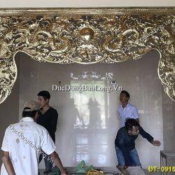 Lắp Cửa Võng Bằng Đồng Cho Điện Thờ
