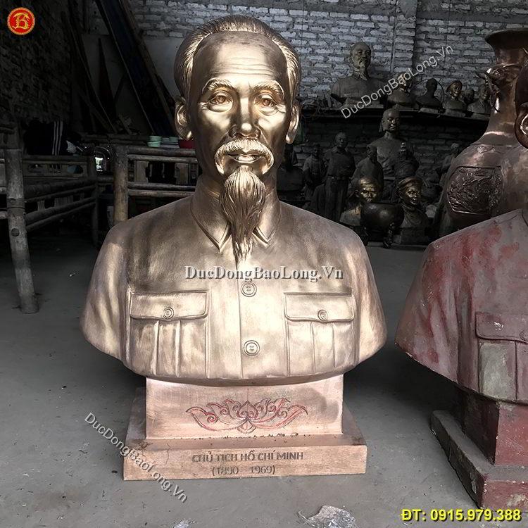 Tượng Đồng Bán Thân Bác Hồ Mẫu Năm 1955