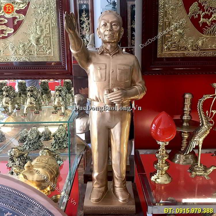 Tượng Võ Nguyên Giáp Đứng Chỉ Huy Cao 81cm