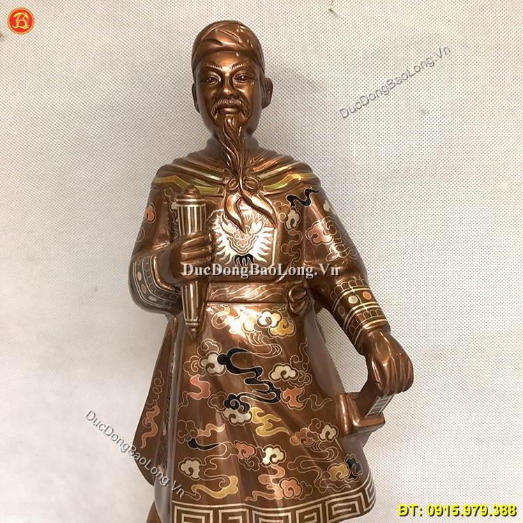Hưng Đạo Vương Trần Quốc Tuấn Cao 48cm