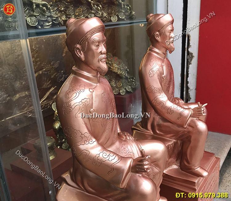 Tượng Nguyễn Du Bằng Đồng 50cm