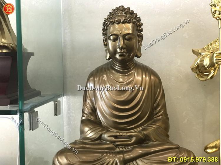 Tượng Đồng Phật Thích Ca Mâu Ni Cao 61cm