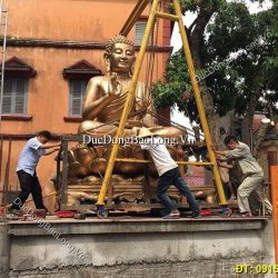 Cơ Sở Đúc Tượng Phật Bằng Đồng Cho Đền Chùa