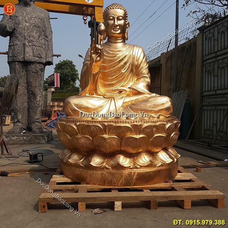 Đúc Tượng Phật Thích Ca Đền Chùa