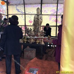 Rước Tượng Đức Phật A Di Đà Về Chùa Hà Tĩnh