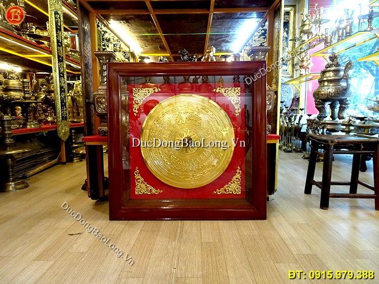 Tranh Mặt Trống Đồng Treo Tường Rộng 81cm