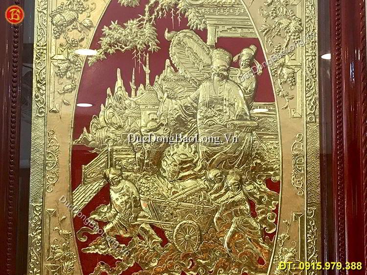 Tranh Đồng Phú Quý Cát Tường 88cm x 1m45