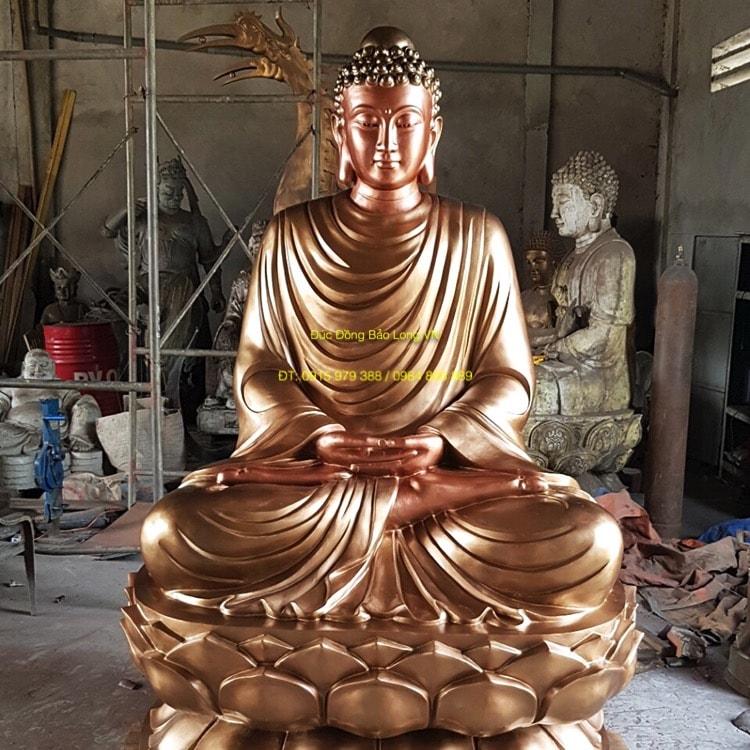 Đúc Tượng Phật Thích Ca 2m5