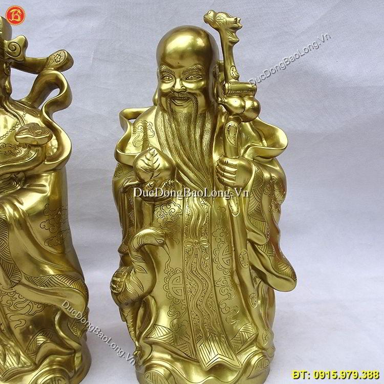 Tượng Đồng Tam Đa Bằng Đồng Cát Tút 50cm