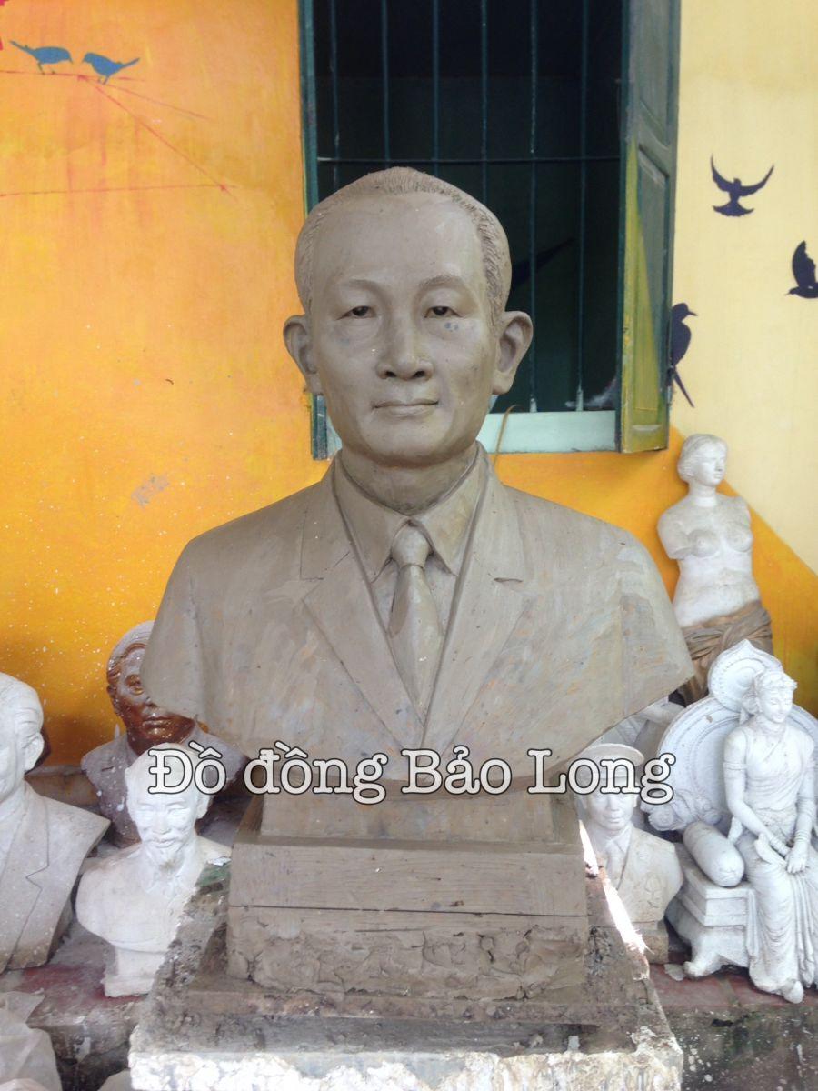 Đúc Tượng Đồng Chân Dung Đẹp Cao 75cm
