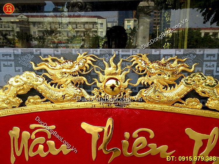 Cuốn Thư Bằng Đồng Mạ Vàng 24k Hàng Đặt