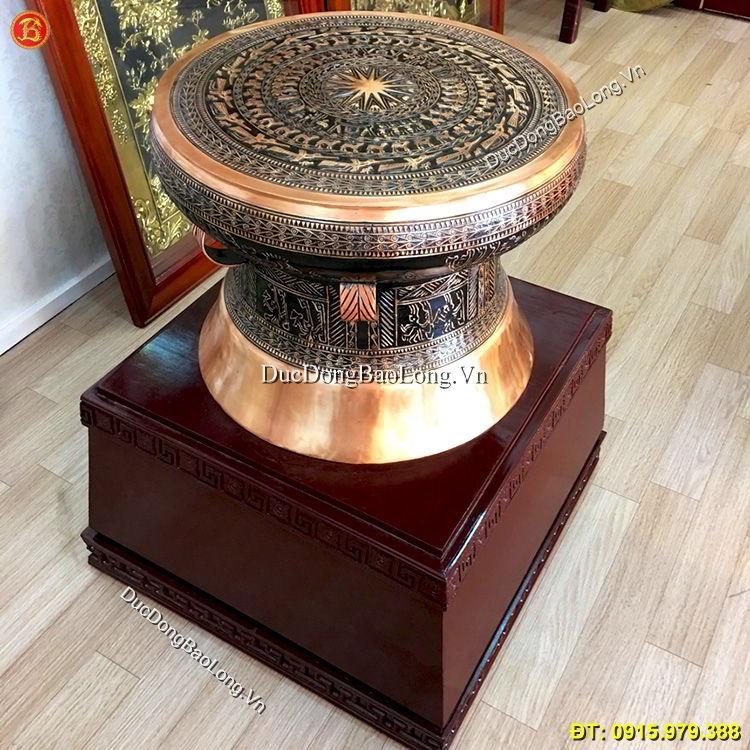 Quả Trống Đồng 50cm Mẫu Trống Đông Sơn