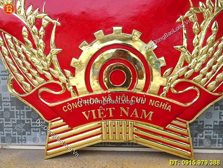 Quốc Huy Bằng Đồng Cao 1m Theo Yêu Cầu
