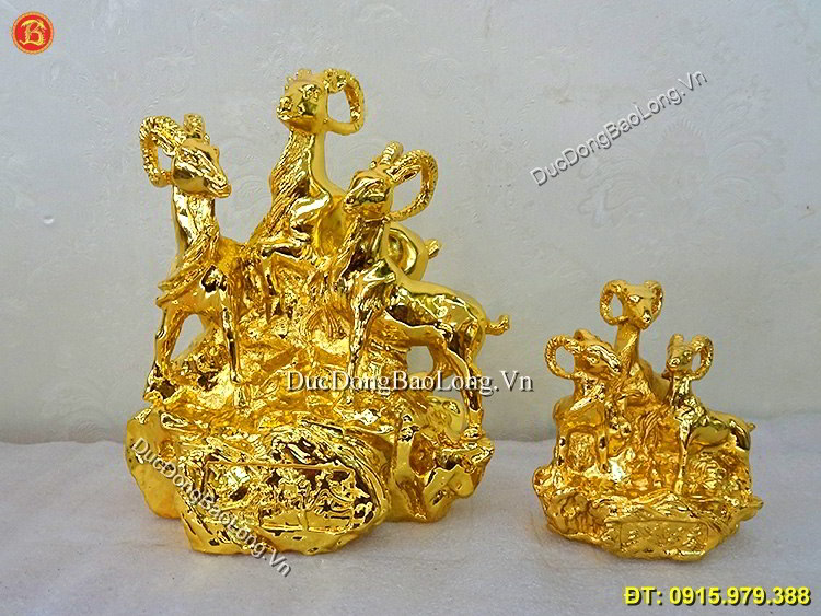 Tam Dương Khai Thái Mạ Vàng 24k Chuẩn Đẹp