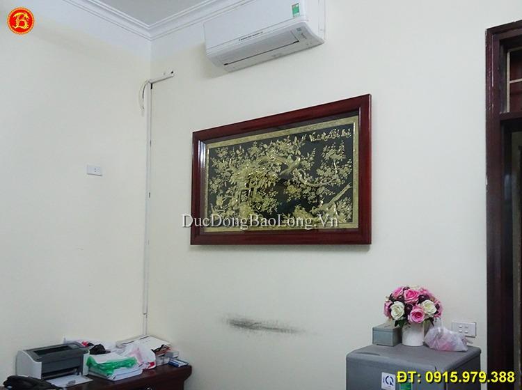 Tranh Vinh Hoa Phú Quý Khách Hà Nội Dài 1m55