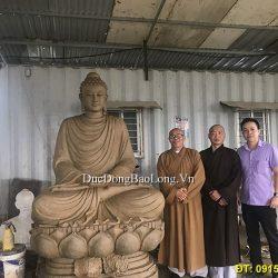 Duyệt mẫu Tượng Đức Phật Thích Ca Cao 2m17