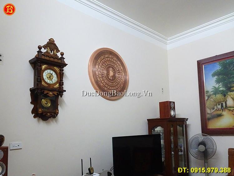 Treo Mặt Trống Đồng Khách Vĩnh Phúc ĐK 81cm