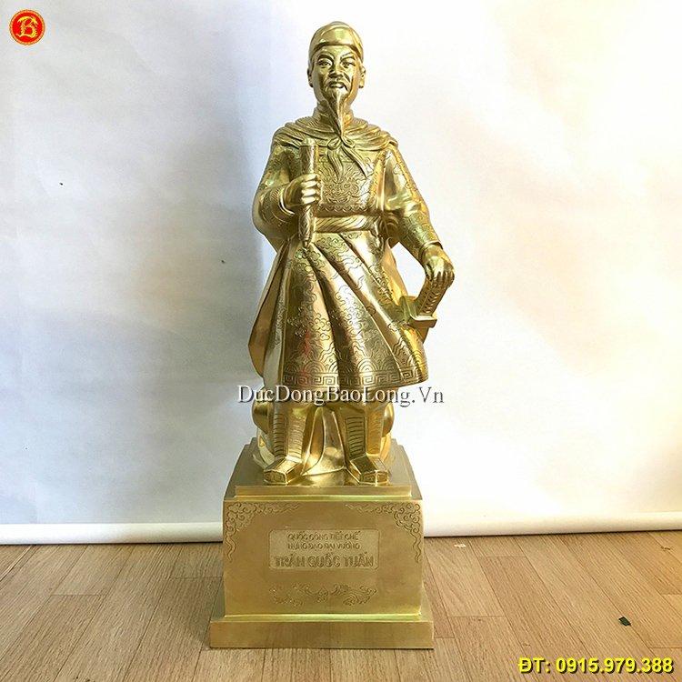 Giá Tượng Đồng Trần Quốc Tuấn, Tượng Trần Quốc Tuấn Bằng Đồng