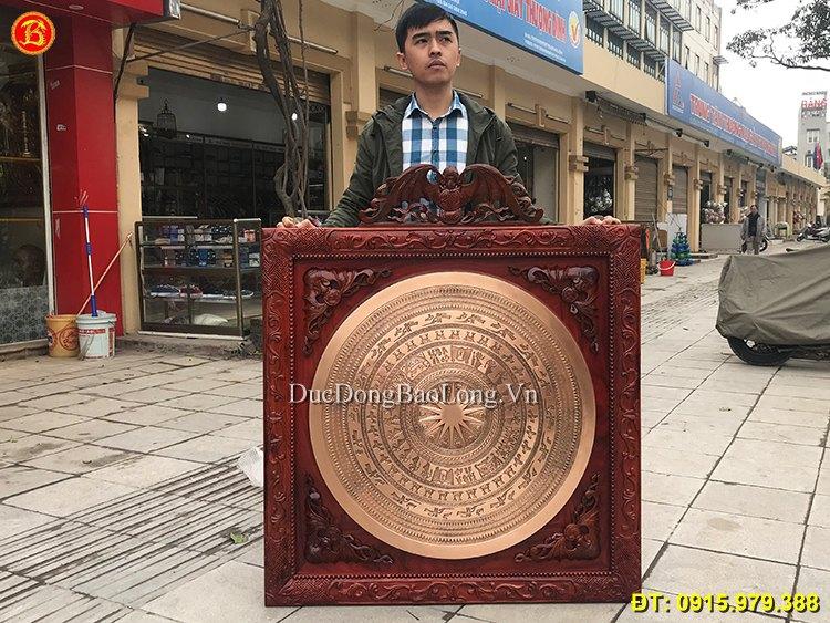 Mặt Trống Đồng Khách Vĩnh Yên ĐK 81cm