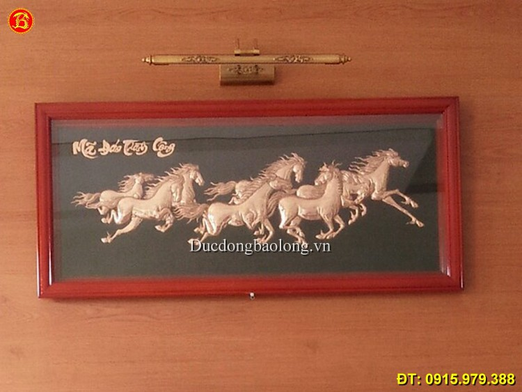 Tranh Ngựa Đẹp, tranh treo phòng khách hiện đại
