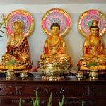 Mẫu Đèn Trên Bàn Thờ Phật Đẹp, cách đặt đèn điện trên bàn thờ