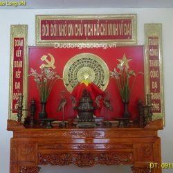 Lắp đặt bàn thờ Bác Hồ ở Huyện Hà Quảng – Cao Bằng