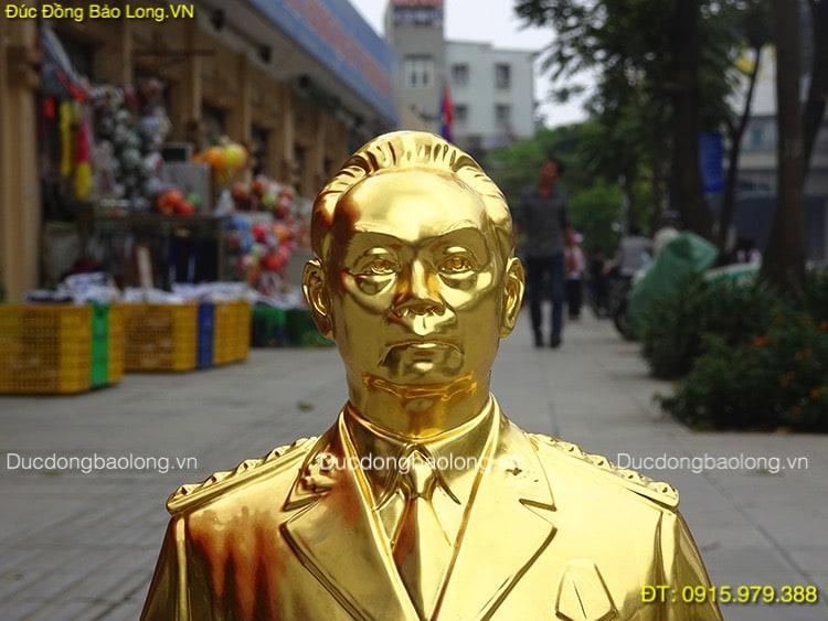 Tượng Bác Giáp Dát Vàng 9999 cao 23cm