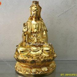 Tượng Đồng Phật Bà Quan Âm Đẹp Đứng, Ngồi, Lớn, Nhỏ Các Kích Cỡ