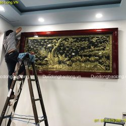 Treo Bức Tranh Bách Hạc Quần Tùng ở Biên Hoà – Đồng Nai